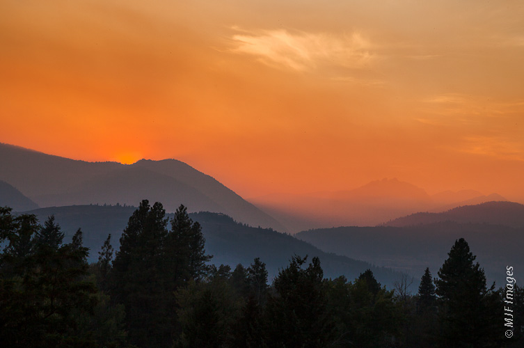Fires in the North Cascades