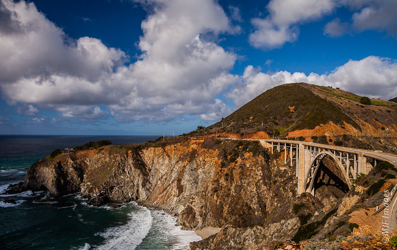 The California Coast is the attraction to driving Highway 1.