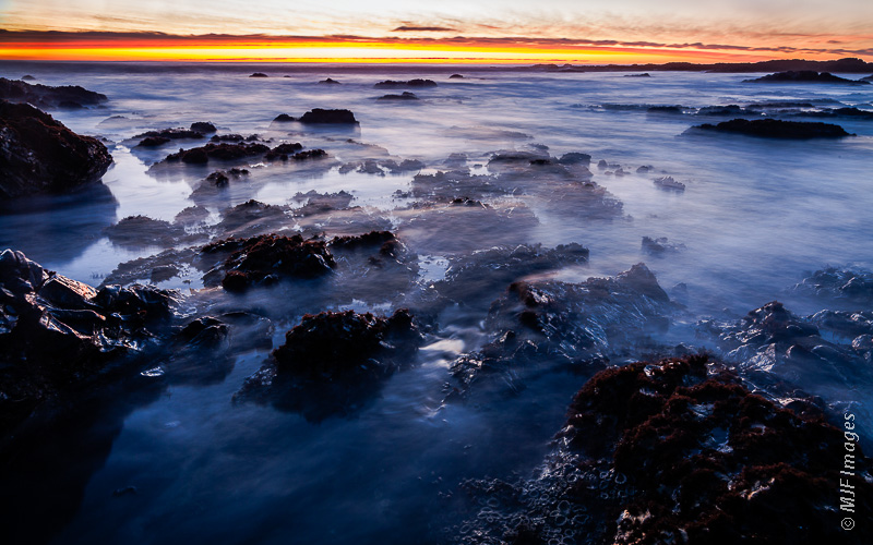 The rocky coastline at Shelter Cove on California's Pacific Coast is a tide-poolers heaven.