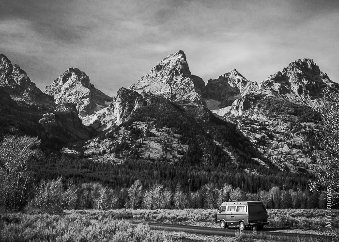 The Grand Tetons are a must-stop on any road trip through America's Rocky Mountain states.