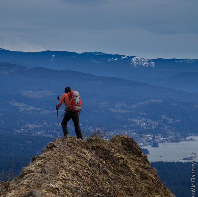 Hiking near the top of Munra Point can feel like you're on top of the world.