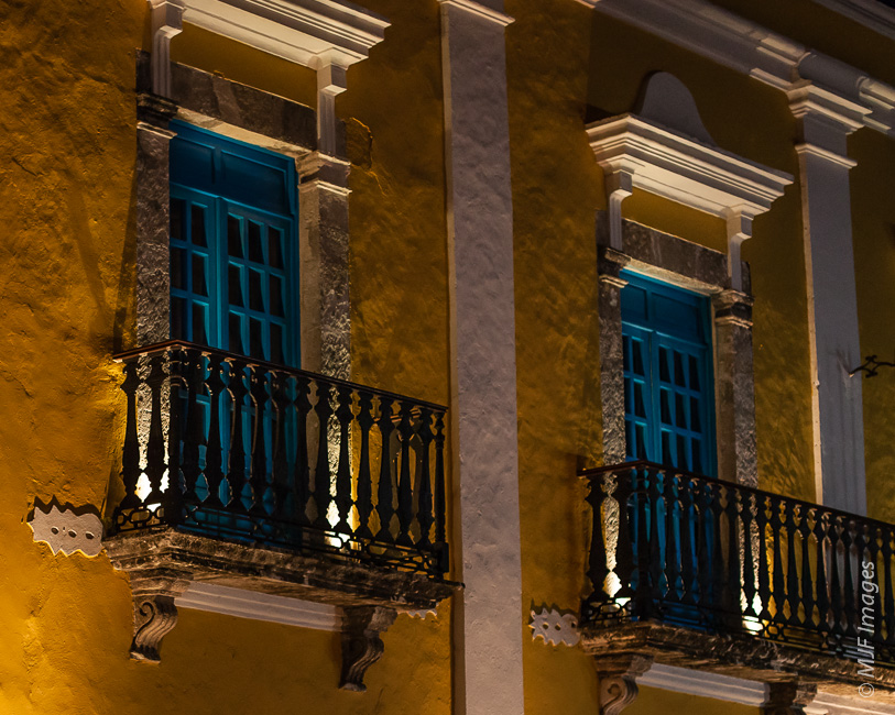 The colonial architecture of Campeche, on the Gulf of Mexico, is one of the highlights of a visit to Mexico's Yucatan Peninsula.