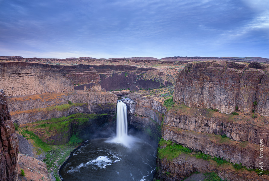 Palouse Falls in southeastern Washington.