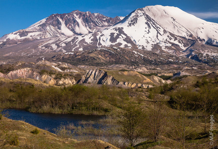 The Hummocks near Mount St. Helens is an area filled with remnant debris from the devastating eruption of 1980.