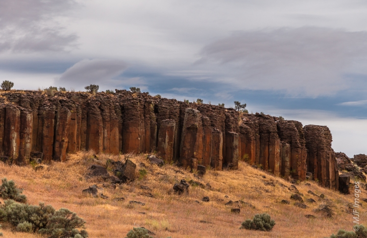 Columnar basalt is found throughout eastern Washington.