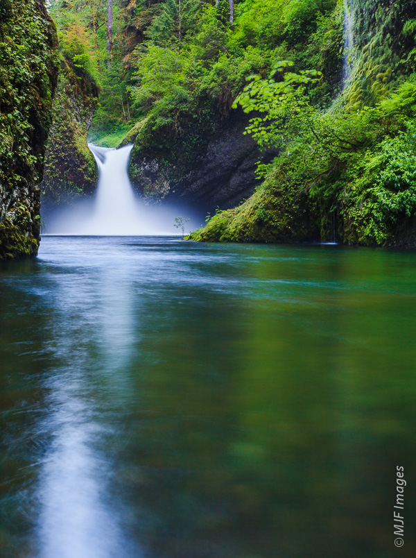 Springtime in Oregon is a time of full rivers and waterfalls.