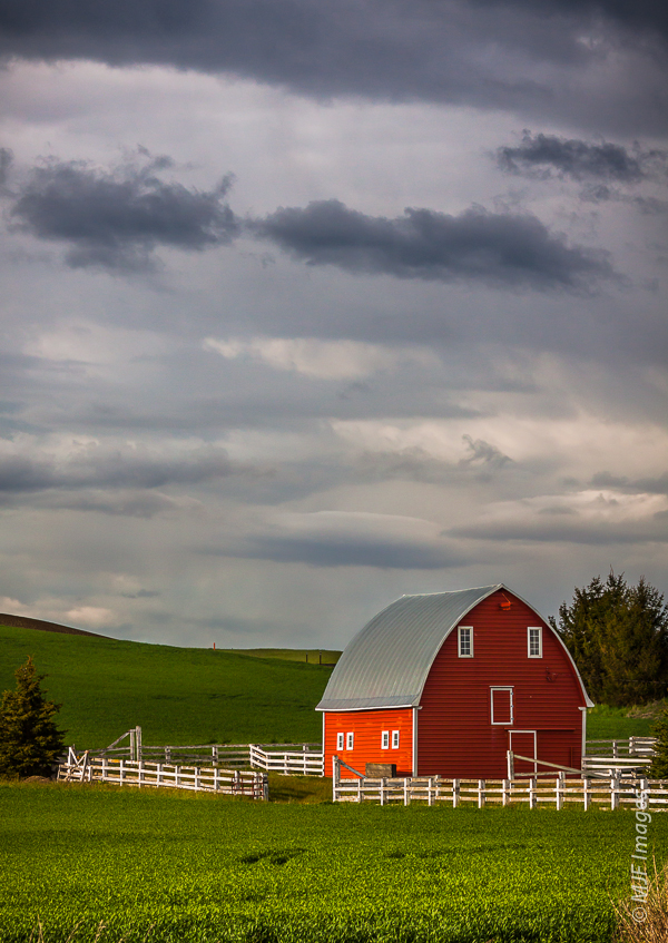 The Palouse of Washington state is a beautiful rural area of quiet farms.