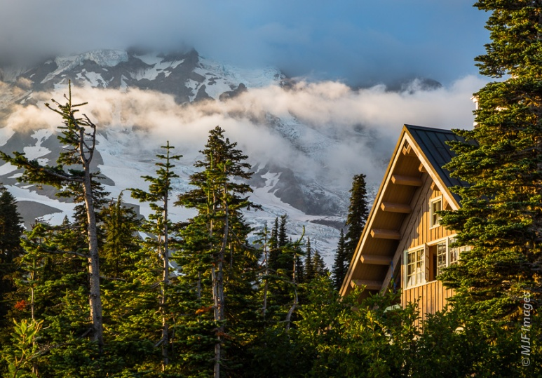 A nice place to sleep before tackling the climb of Mount Rainier in Washington's Cascades.