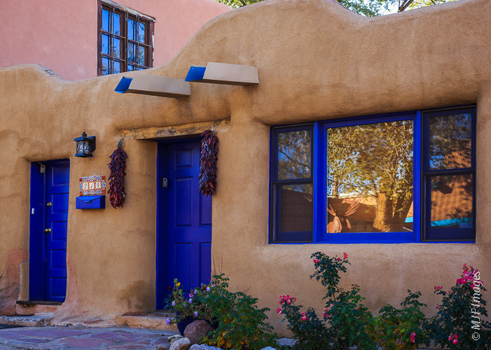 A house in Taos.