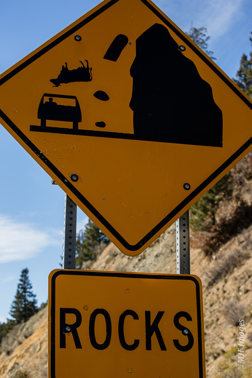 Had to look twice at this sign to get the New Mexico Highway Dept's humor.