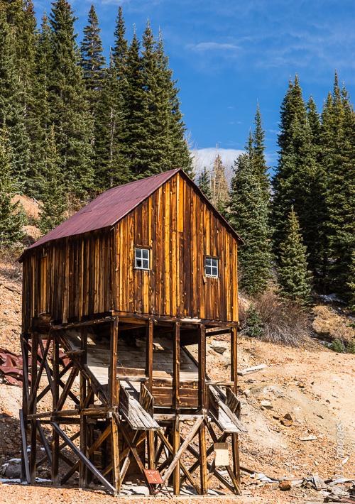 A relic of Colorado's rich mining past.