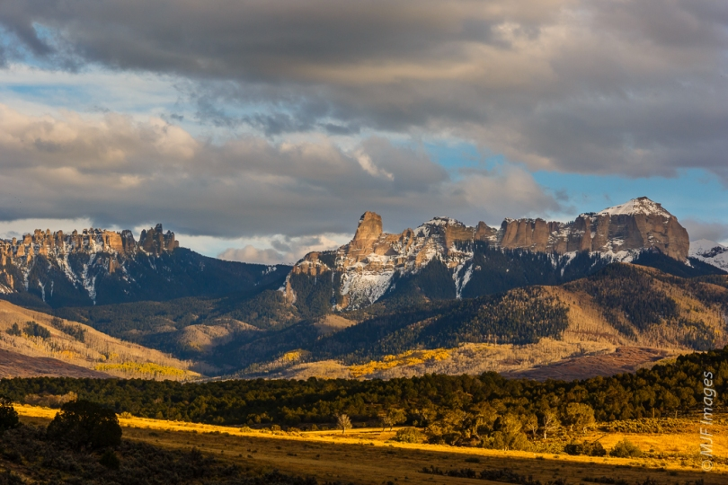 The rugged San Juans in SW Colorado.