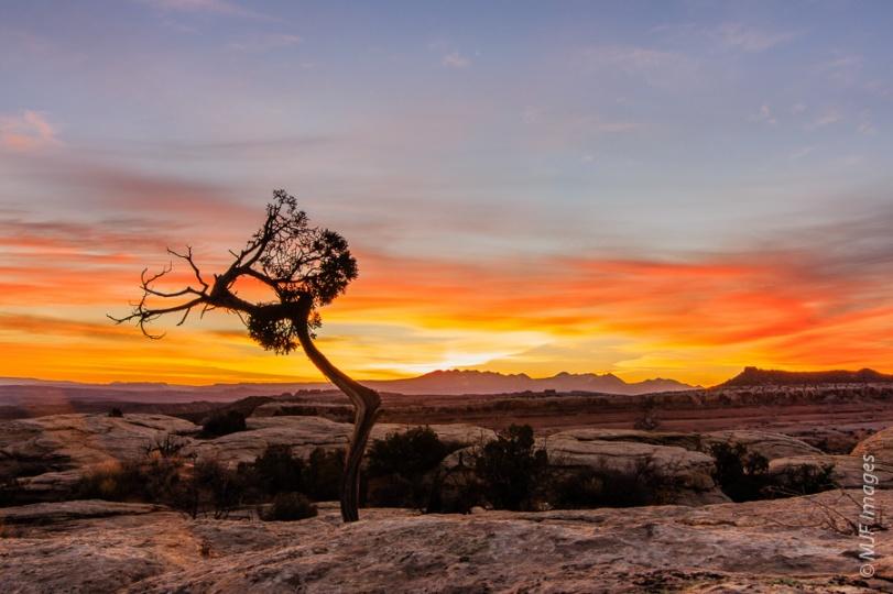 The day begins in southern Utah's desert.