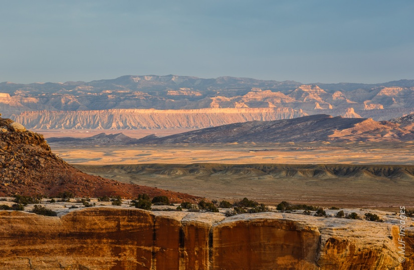 Views of canyon country: the Book Cliffs, Utah.