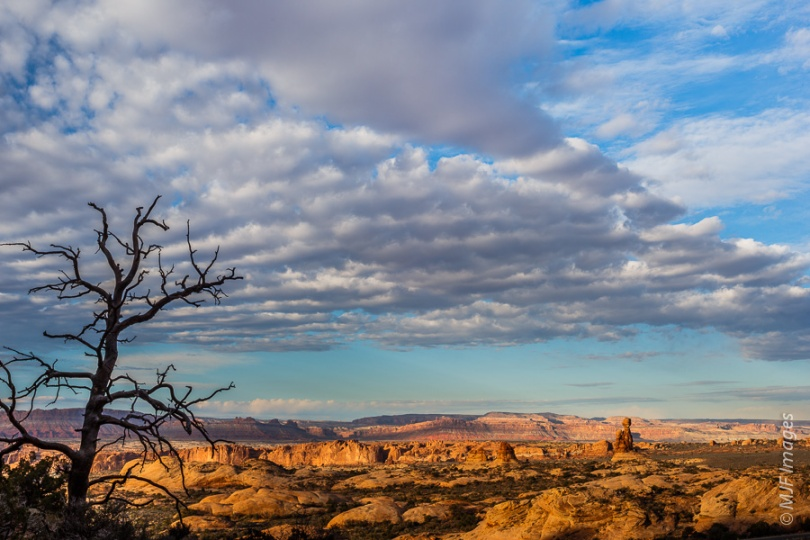 "This is one of the shots I got at the Windows area in Arches N.P. while NOT getting ""the shot""."