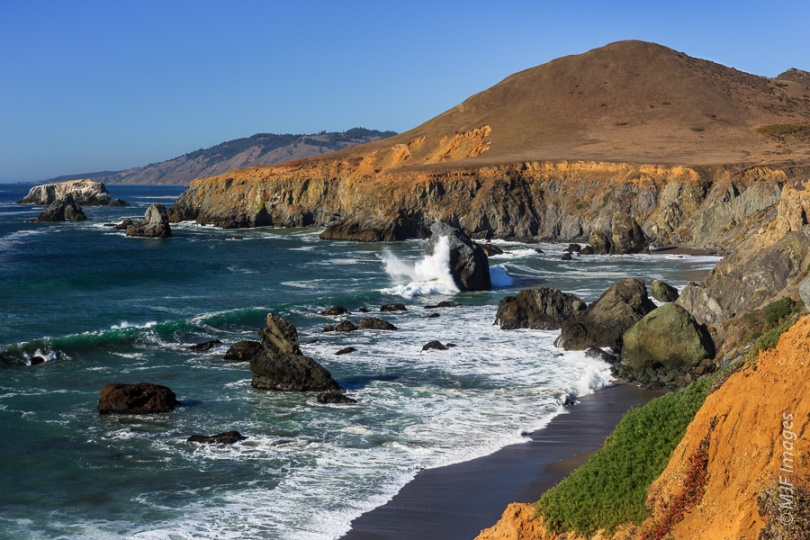 The rugged beauty of Sonoma Coast State Park in northern California.