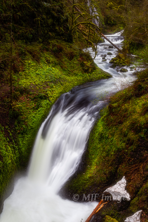Oneonta Creek, Columbia River Gorge, Oregon