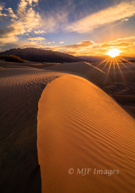 High-contrast scenes like this one in Death Valley, California, can make for dramatic images.