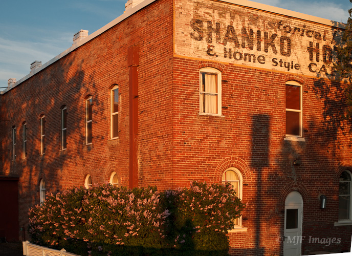 Shaniko was once one of the busiest centers of sheep-ranching in the west.  This is the historic Shaniko Hotel.