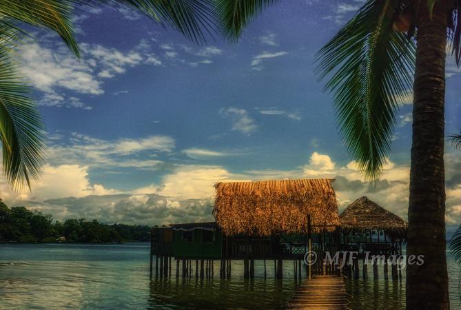 Bocas del Toro, Panama, digital.