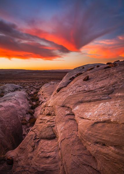 Lake Powell area, Arizona.  Copyright MJF Images.  Please click on image if interested.