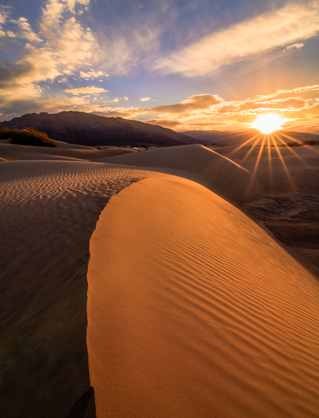 An image at Death Valley that will appear in a magazine soon!  Copyright MJF Images.