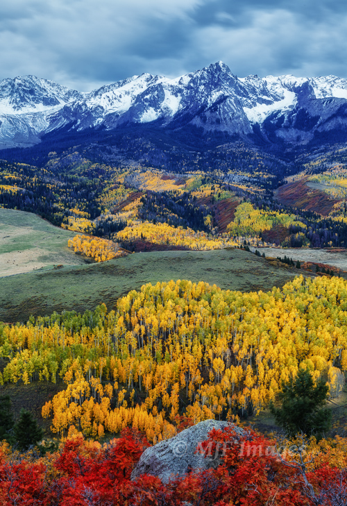 Are you tired of fall colors yet?  San Juan Mtns., Colorado