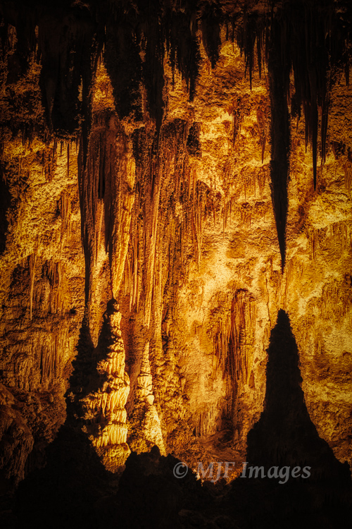 A recent shot from Carlsbad Caverns, New Mexico.