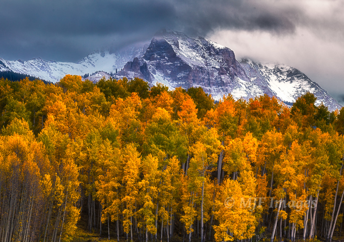 From last October in the Rockies.