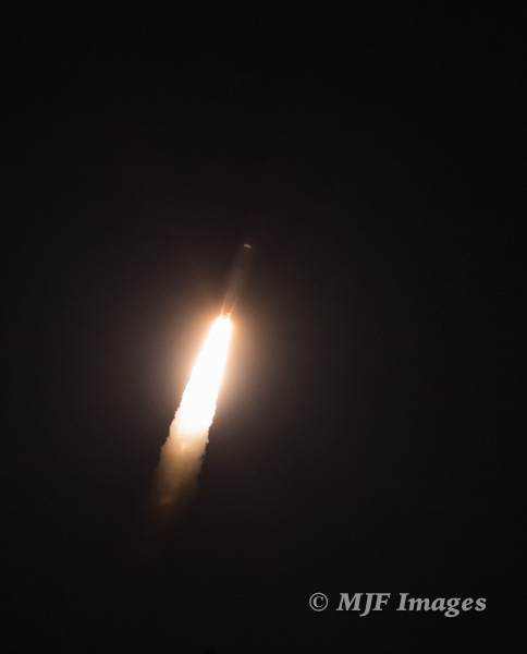 An Atlas 5 rocket soars into space from Cape Canaveral, Florida
