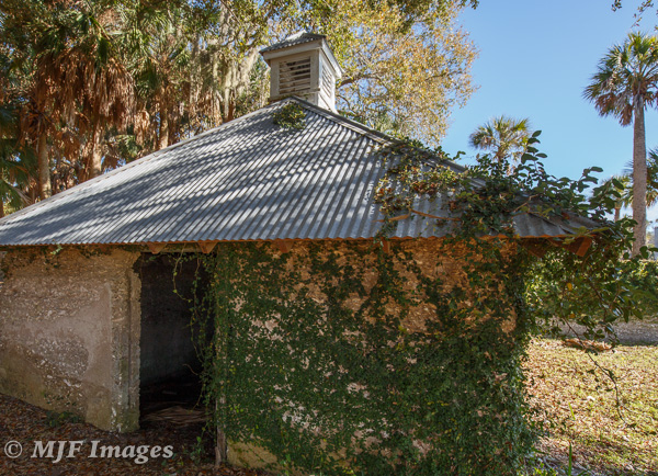 Cumberland Island off the coast of Georgia is a throwback to the old south, its good and its bad: slave quarters.
