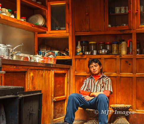 Getting to spend time in a Sherpa kitchen, drinking tea, is a special thing.