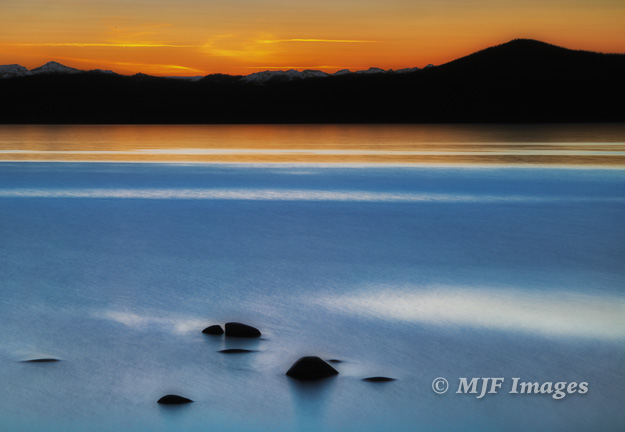Long exposures like this at Lake Tahoe demand a tripod.