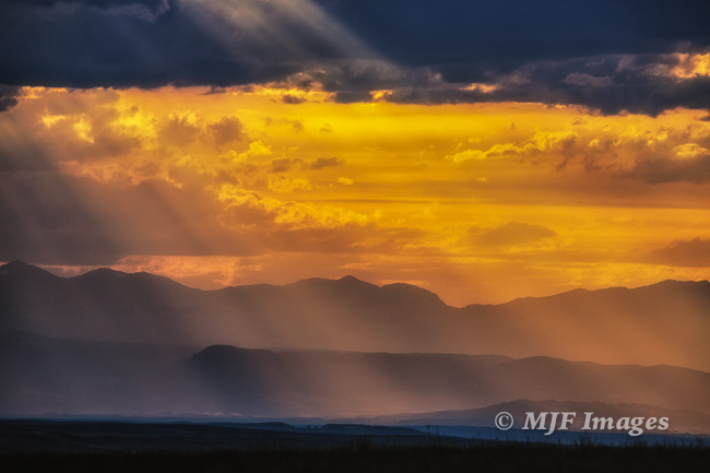 And now for a non-macro: sunset over the Bighorn Mountains, Wyoming.
