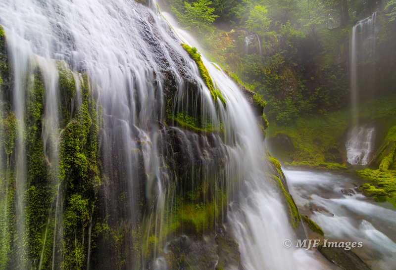 Panther Creek Falls, Washington.  Going wide because I was so close to the falls.