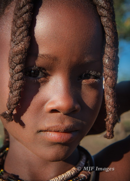 This young Himba girl from north Namibia didn't need much of a re-edit, just re-discovery.