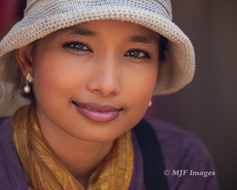 Edge of a smile: Cambodia.