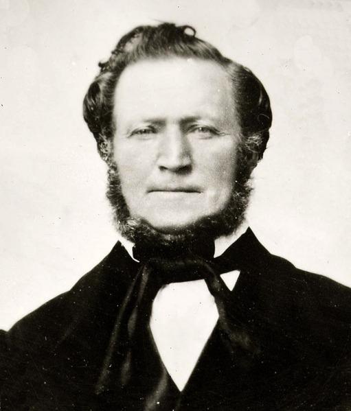 Mormon leader Brigham Young.