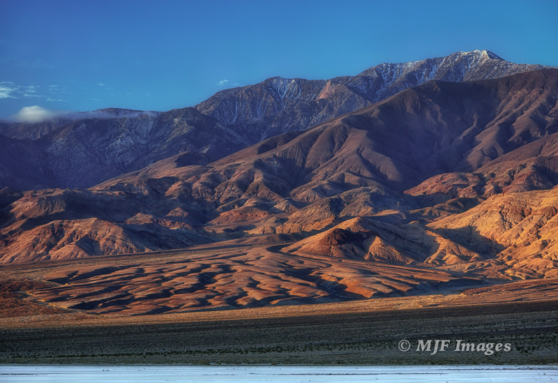 I used a polarizer for this shot in Death Valley recently because I wanted to maximize the effects of the side-light and show the texture in the land.