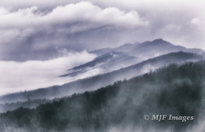 The Great Smoky Mountains, Tennessee.