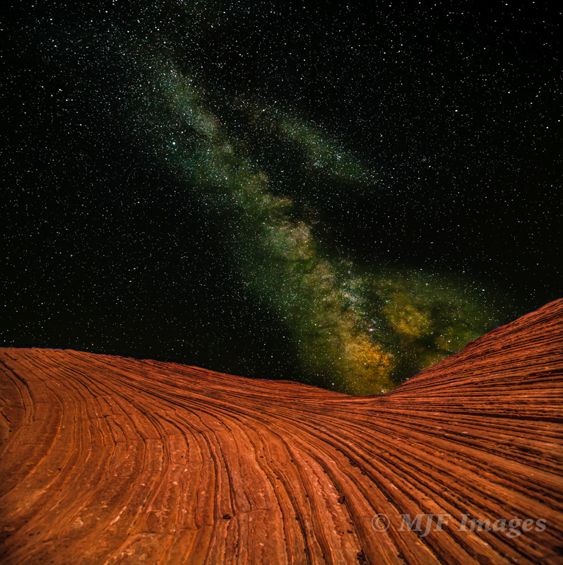 Though I'm not as much into shooting the stars as I used to be (too popular), I still love stargazing: Snow Canyon, Utah.