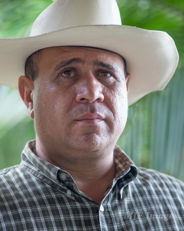Candid portrait of a Nicaraguan vaquero.